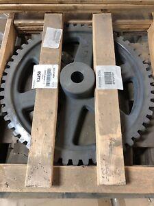 """Boston Gear G1115 Worm Gear, Spoke, 14.5 PA Pressure Angle, 1.500"""" Bore, 54:1"""