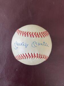 Mickey Mantle Autographed AL Baseball, JSA LOA