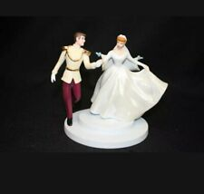 Wdcc Cinderella Figurine Fairy Tale Wedding Cake Topper Coa Signed by Marc Davis