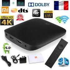 1080P 4K 3D Xiaomi MI BOX 3 Android 6.0 2Go+8Go HDR OTA WIFI TV BOX Quad Core EU