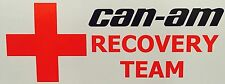 CAN-AM Recovery Team Vinyl decal Sticker UTV ATV Snowmobile POLARIS ARCTIC CAT