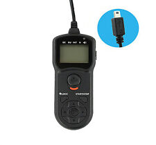 UK Store! JJC Timer Remote Shutter Cord for Fujifilm RR-80 (TM-K)