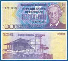 NIKARAGUA / NICARAGUA  10.000.000 Cordobas (1990)  UNC  P.166