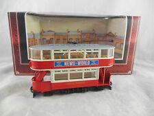 CORGI Tramlines D996/8 Londres TRANSPORT DOUBLE JEU FERMé DESSUS, avant ouvert