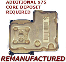 REMAN 2000-2005 Chevy Tahoe ABS Pump Control Module EBCM NO TRACTION >EXCHANGE<