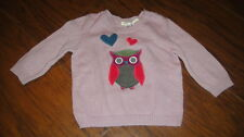 UNITED COLORS OF BENETTON BABY 3-6 62 OWL SWEATER