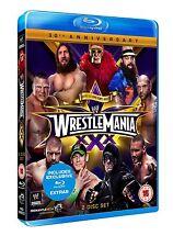 WWE. Wrestlemania 30 BOX 2 BLURAY Lingua Inglese NEW PRENOTAZ. SPEC.PRICE.cp