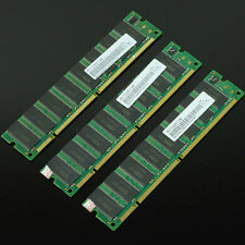 1.5GB 3x512MB PC133 133MHZ 168pin SDRAM Low density DIMM Non-ECC Desktop Memory