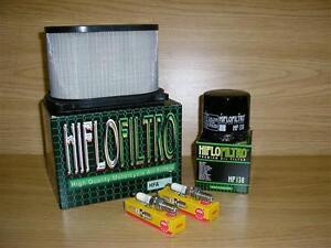 SV650 99-02 Service Kit  SV 650 Air Filter Oil Filter Spark Plugs
