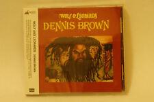 Dennis Brown -Wolf & Leopards JPN export CD DEB MUSIC !