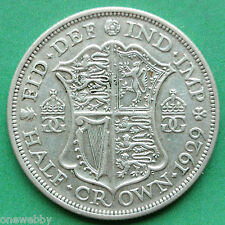 1929 George V Silver Half-Crown SNo24938