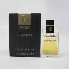 Theorema by Fendi 5 ml/ 0.1 oz Eau de Parfum Mini NIB
