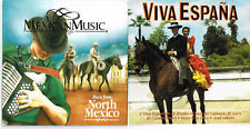 Music from North Mexico + Viva Espana + Sones from Jalisco, 3 CDs