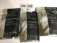 Visalus Shape Kit Weight Loss Diet Body By Vi Shake Mix 3 bags EXP 6/2020