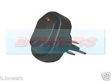 12v Volt ámbar Iluminado Led Mini Oval interruptor de encendido/apagado de alquiler de van Tablero