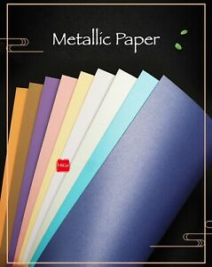 5/10 sheets 250gsm A4 pearlescent paper printable craft scrapbooking cardstock