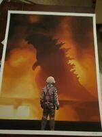 """Scott Listfield """"Godzilla""""  Art Print, LIMITED EDITION #/50 Mint Rare!! Sold Out"""