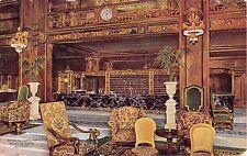 Illinois postcard Chicago, Hotel La Salle, Office and Clerk's Desk ca 1911