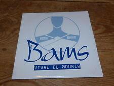 BAMS -VIVRE OU MOURIR !!!!RAP - HIP HOP!!!!!!!! !RARE CD PROMO!!!!!!!!