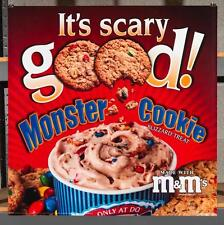 Dairy Queen Promotional Poster For Backlit Menu Sign Monster Cookie dq2