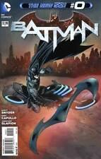 NEW DC 52 BATMAN #0 1:25 VARIANT COVER!
