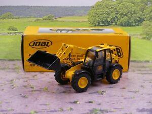 Joal 214 JCB 531-70 Loadall Telehandler 1:35 scale diecast model vgc boxed