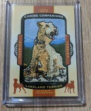 Lakeland Terrier 2018 Upper Deck Goodwin Champions Canine Companions