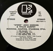 Koerner & Murphy Running Jumping Standing Still PROMO NM vinyl Stickered cover