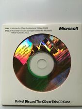 Microsoft Office 2003 Professional Ed. Full Version w/Business Contact Mgr