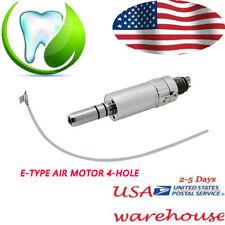 Dental classic Slow Low Speed Handpiece E-type Air Motor 4 Hole USA 392KPa 1:1