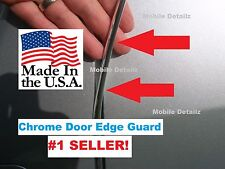 TRIM MOLDING  CAR TRUCK SUV (made in the USA!) 8' CHROME  DOOR EDGE GUARDS