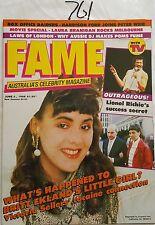 FAME (with TV SOAP) 1986 JUNE 2,HARRISON FORD,BRAITHWAITE,MAGGIE KIRKPATRICK,N/M
