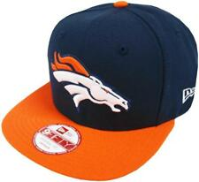 New Era NFL Denver Broncos 2 Colores Gorra 9fifty Gorra Béisbol Hombres Nuevo