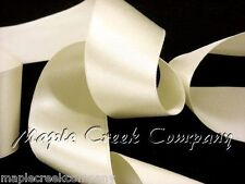 """3yd of Ivory Champagne 1/4"""" Double Face Satin Ribbon 1/4"""" x 3 yards neatly wound"""
