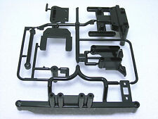 INCOMPLETE Tamiya 4WD TA02 FWD FF 53166 OP166 FRP Chassis Spare J-Parts FF01 GT2
