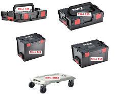 FLEX  L-BOXX 1 / 2 / 3 / 4  TKL-L 102 136 238 374 Sortimo Transportkof  L-BOX
