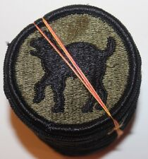 New Dealer Lot of Twenty 81st Infantry Division Patches, Sew-On, Subdued