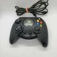 Original Xbox Controller Wired Black S-Type Genuine Official OEM