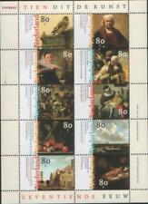 Nederland NVPH 1826 Vel Tien uit de Kunst 1999 Postfris