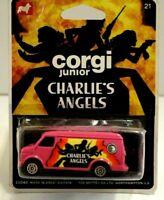 Vintage Corgi Juniors Charlie's Angels Mint Sealed Original on Card 1976