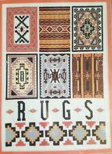 "Indian Rugs 12"" Southwest Native American Navajo Bucilla Vintage Needlepoint Kit"