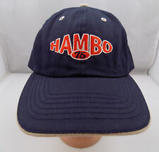 HAMBO MEADOWLANDS RACETRACK HAT HORSE HARNESS ADJUSTABLE BASEBALL PRE-OWNED ST10