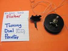 Fisher Rs-2003 Rs-2002 Stereo Receiver Tuning Dial Pointer Pulley String
