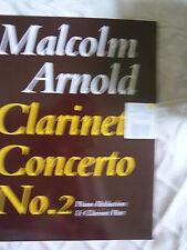 Clarinet Concerto No 2 - Malcolm Arnold : Piano Reduction & Clarinet Part