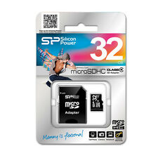 Scheda Di Memoria Memory Card MicroSd HC Class 4 32GB Silicon Power hsb