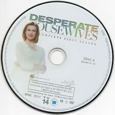 Desperate Housewives Season 1 Disc 6  DVD Replacement  FREE SHIPPING