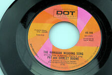Pat & Shirley Boone: Hawaiian Wedding Song / Side by Side  [VG+ Copy]