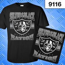 Raider Nation Football Pride & Respect T Shirt 9116