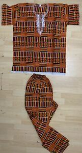 African Mens Traditional Outfit