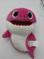 """Pinkfong Baby Shark Mommy Shark Plush 8"""" Stuffed Pink Puppet"""
